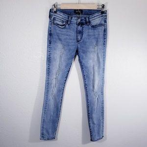 Buffalo David Bitton Skinny Distressed Jeans